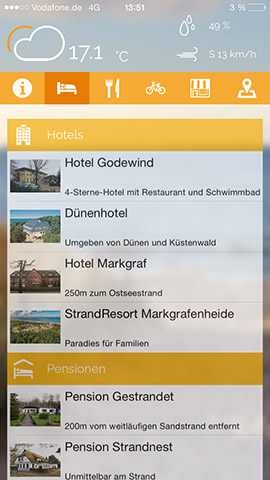 Markgrafenheide App Screenshot 02